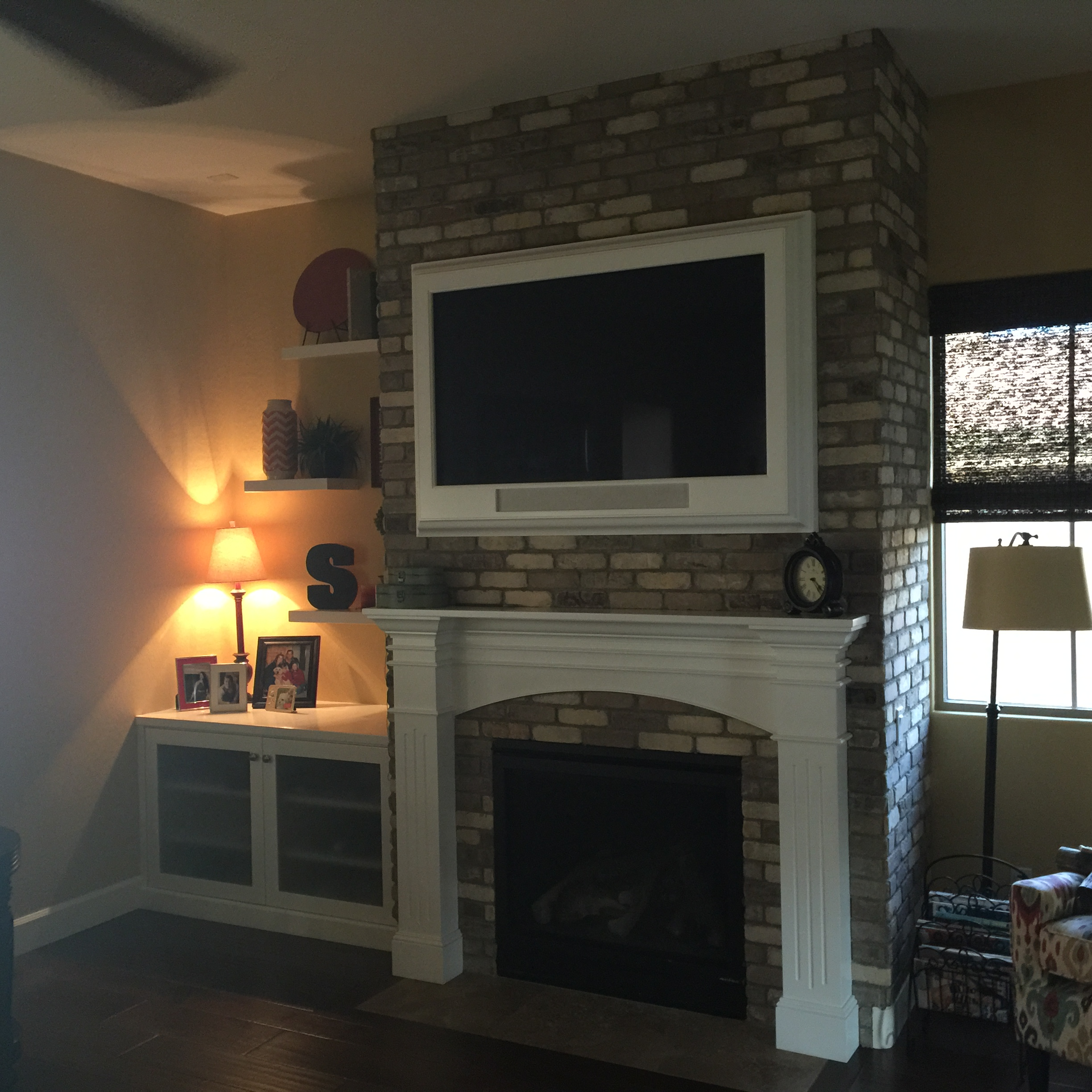 michigan granite com brick remodeling picture canton fireplace video oak renovation parkohome remodel